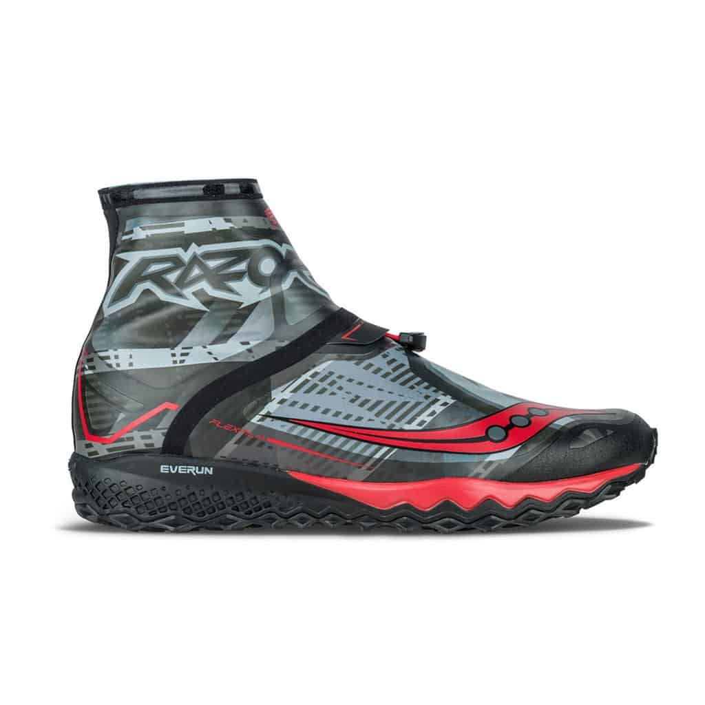 saucony mens razor ice+ running shoes