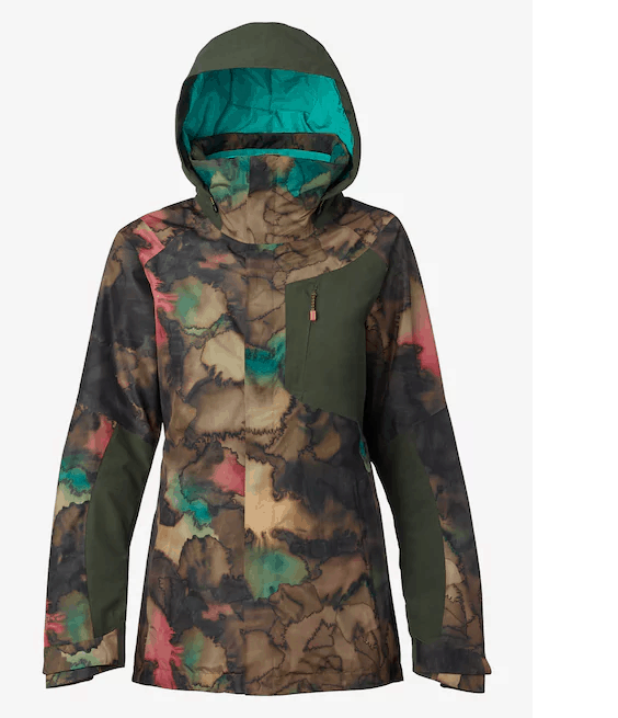 burton womens ak gtx embark 2l jacket