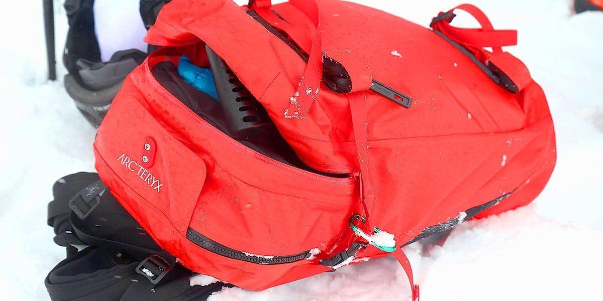 Arc'teryx, Ski & Snowboard. Arc'teryx Voltair Avalanche Airbag Review