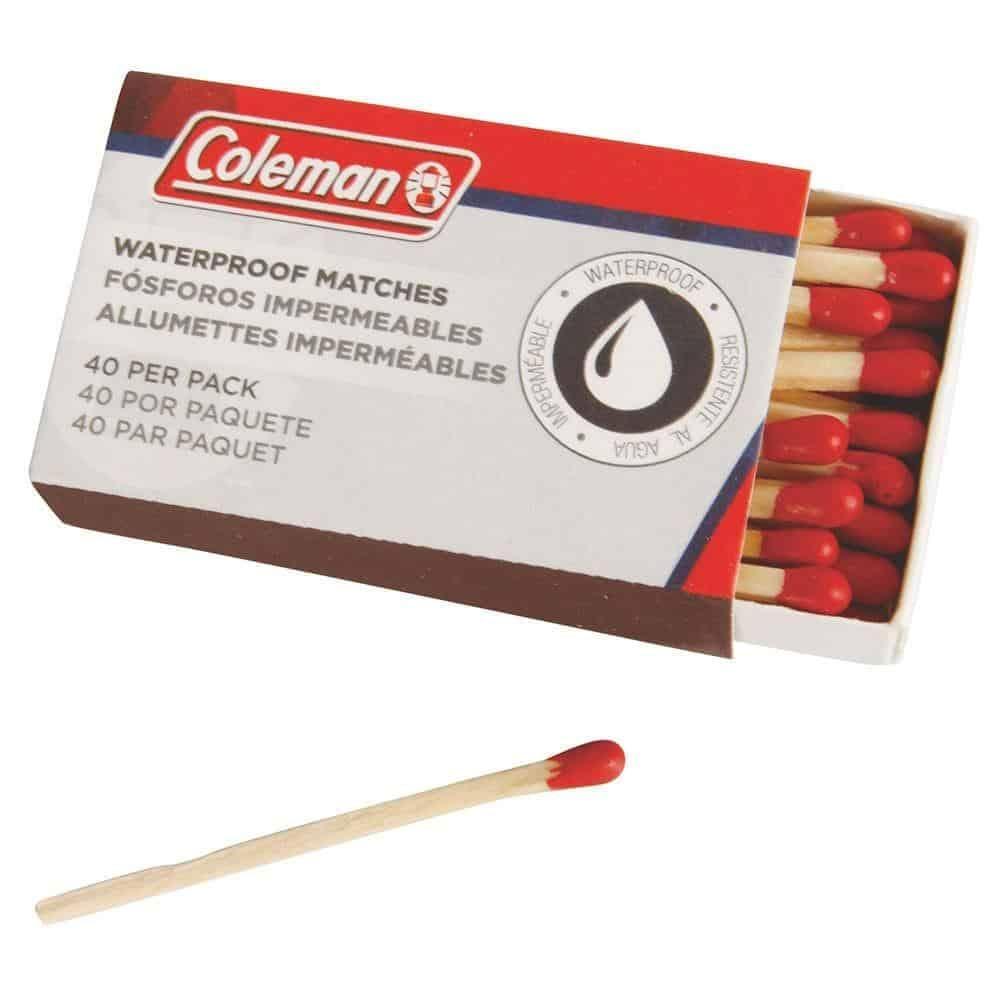 coleman waterproof matches