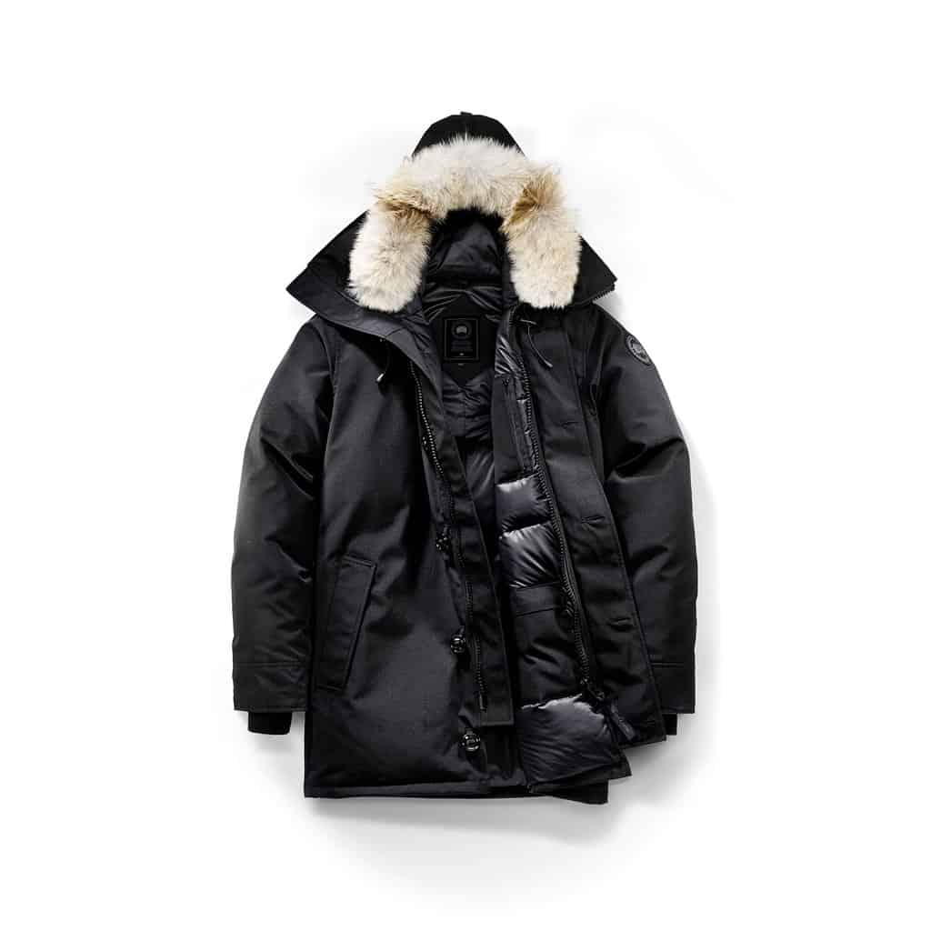 canada goose mens chateau parka black label