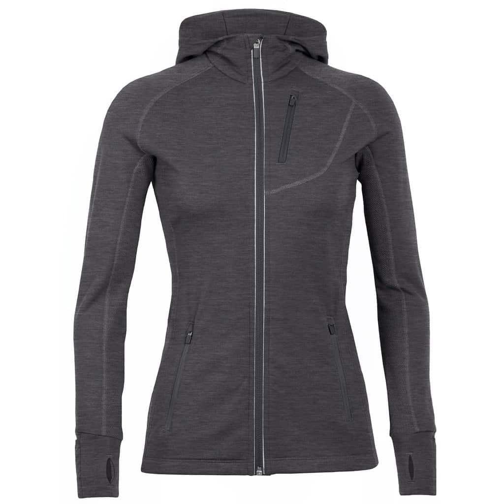 quantum long sleeve zip hoodie