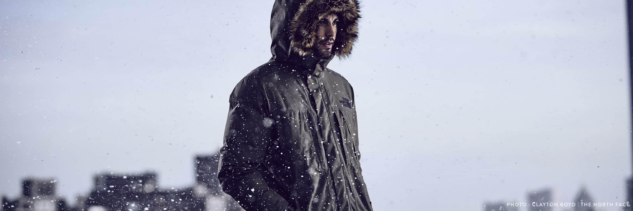 Arc'teryx, Canada Goose, Mackage, Nobis, Quartz Co., The North Face. Manteaux pour hommes les plus populaires
