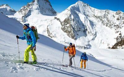 Adventure Medical Kits, Arc'teryx, Backcountry Access, Black Diamond, Gregory, MSR, Ski & snowboard. Que transportez-vous dans votre sac à dos lors d'une journée en ski hors-piste?.