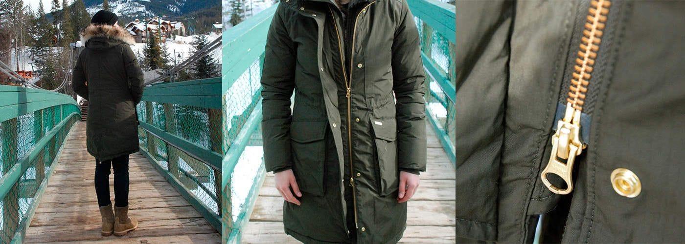 Évaluation de produit – Woolrich John Rich & Bros Women's Military Parka