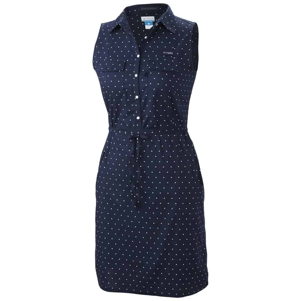 sleeveless columbia dress