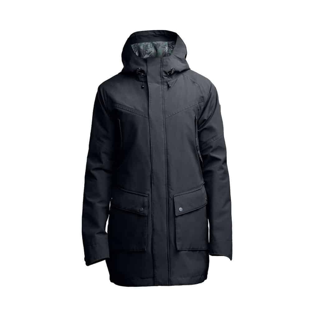 weldon raincoat black