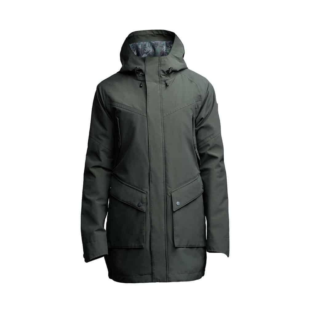weldon raincoat green