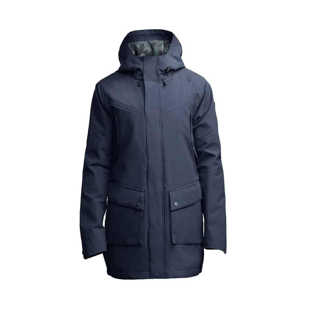 weldon raincoat navy