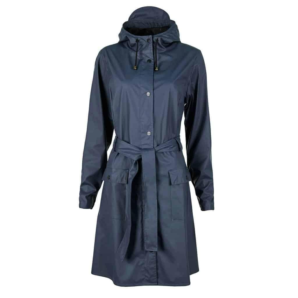 curve raincoat navy