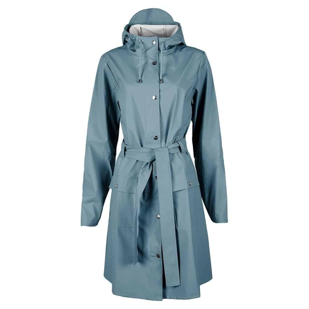 curve raincoat blue