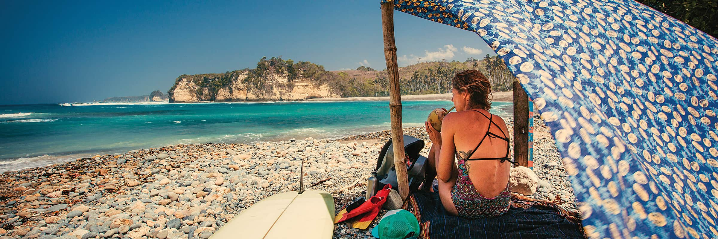 Patagonia, Surfing, Swimwear. Discover Patagonia's Fair Trade & Recycled Swimwear
