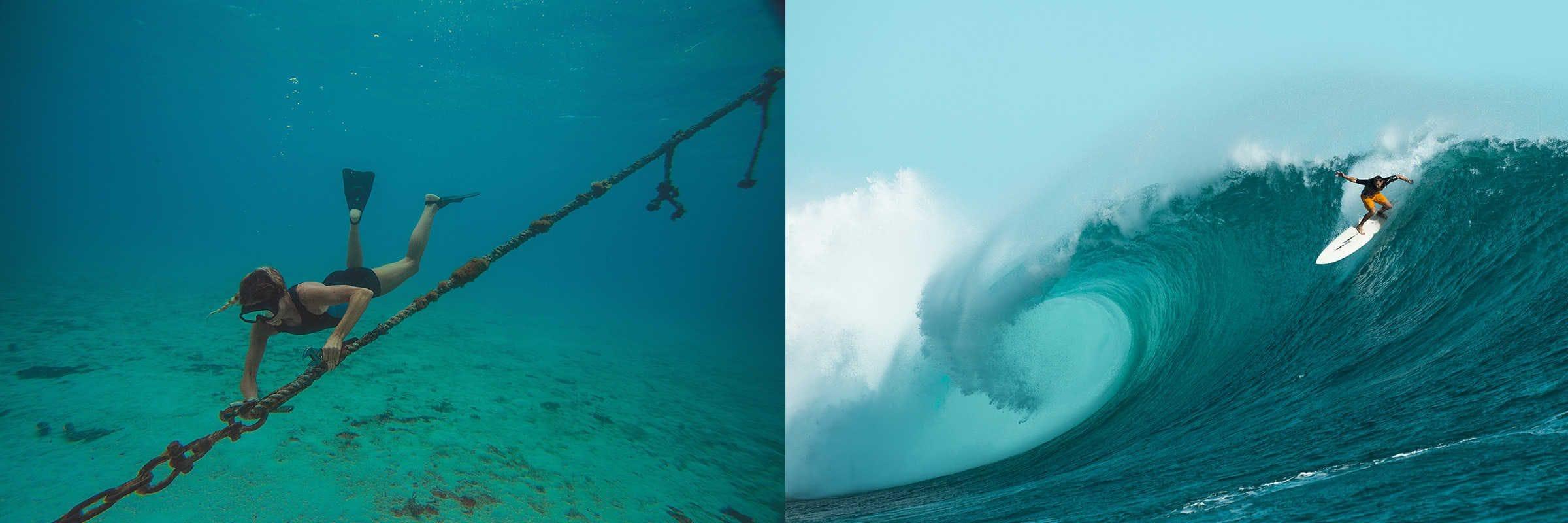 swimwear underwater