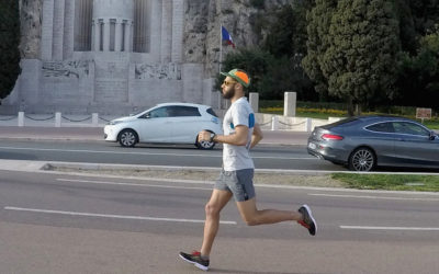 GoPro, Running, SAXX Underwear. Revue du short Kinetic Run Homme.