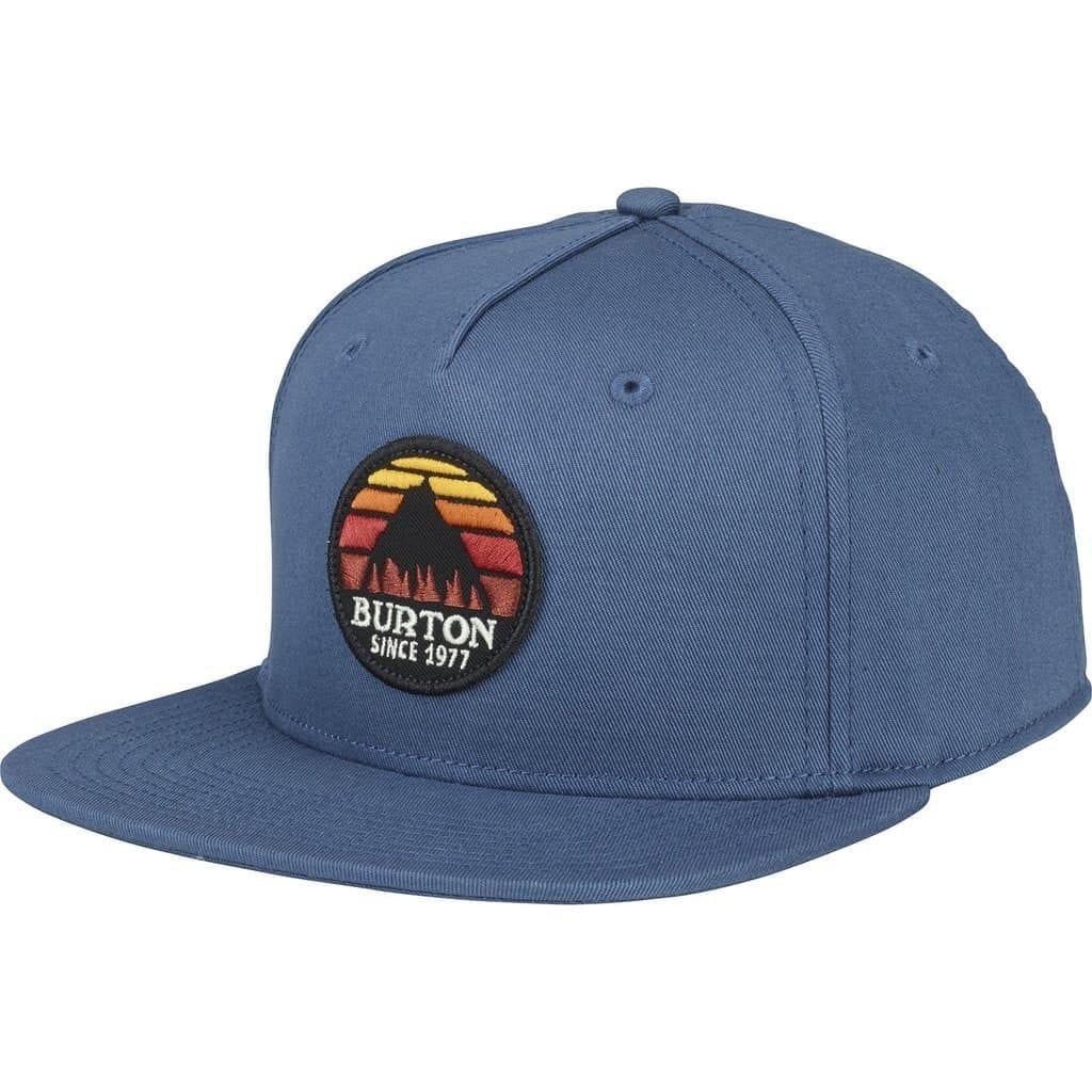 blue burton cap