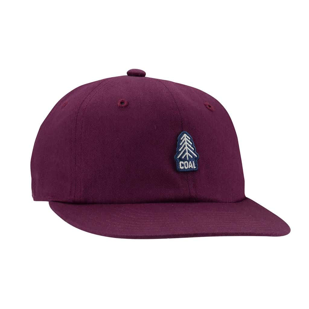 burgundy junior cap