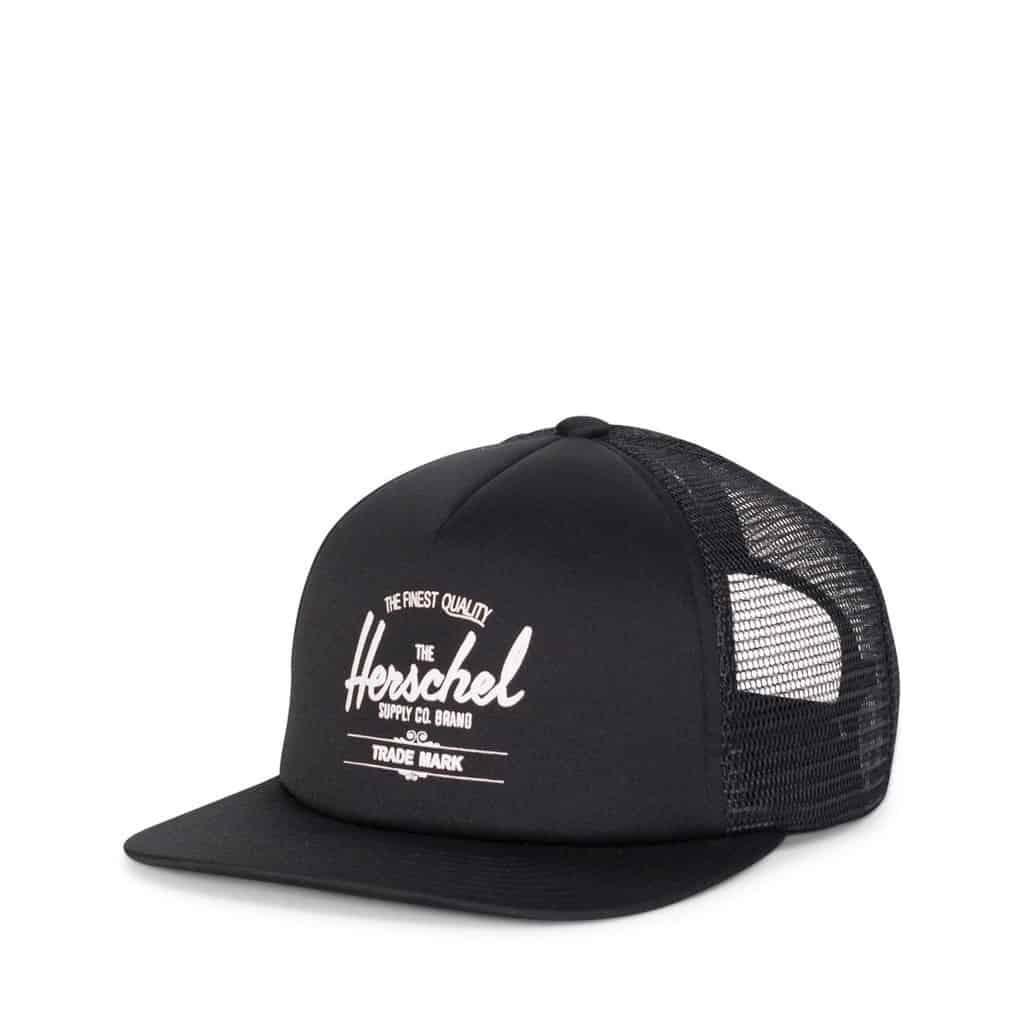 whaler cap black