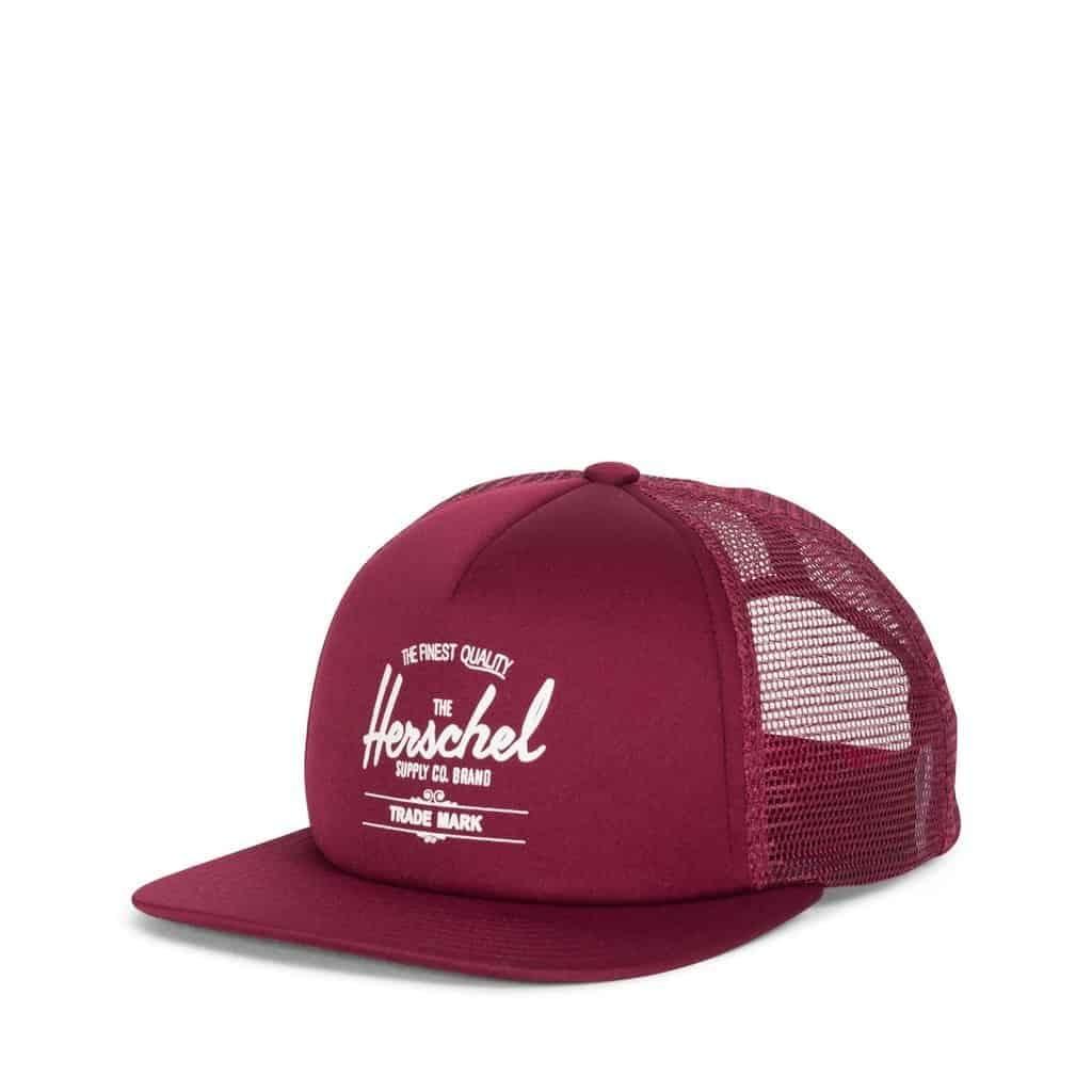 whaler cap red