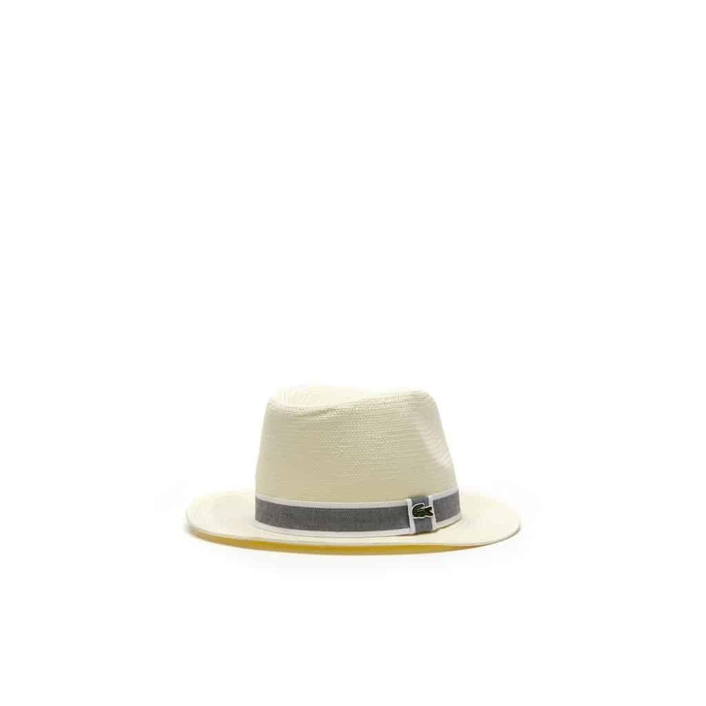 lacoste straw hat