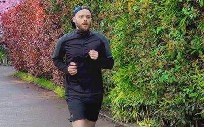 Running, Smartwool. Revue du chandail PhD 1/4 Homme.