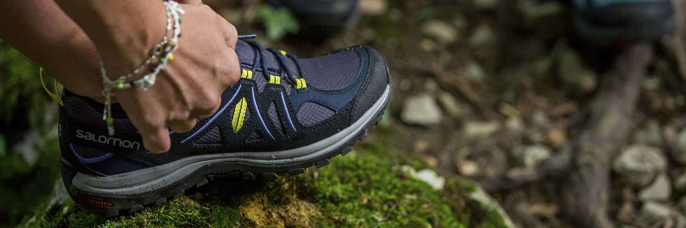 Randonnee pedestre bottes vs souliers | Salomon, Lowa