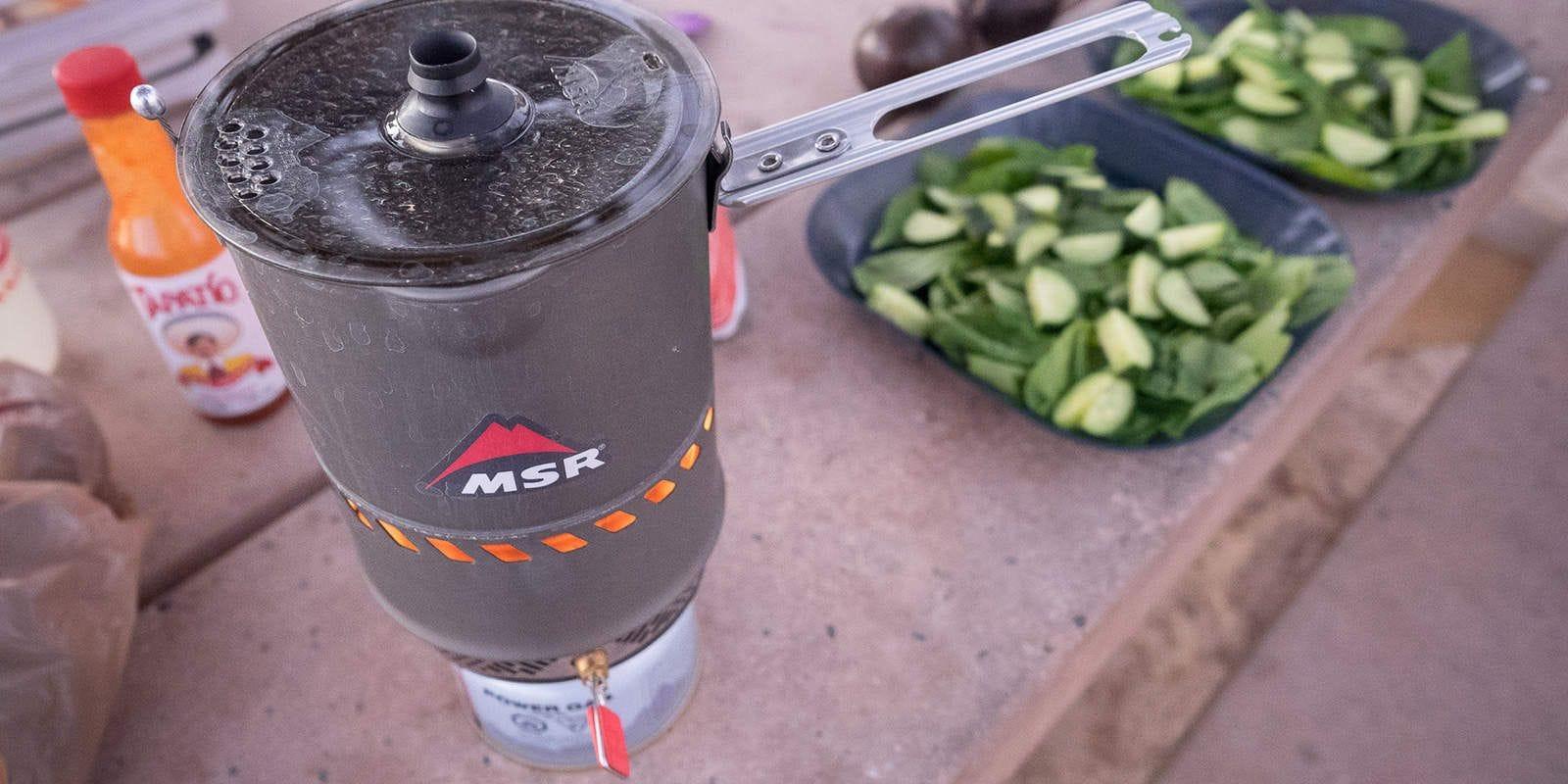 Biolite, Jetboil, MSR, optimus, réchaud. Guide: choisir son réchaud pour le camping
