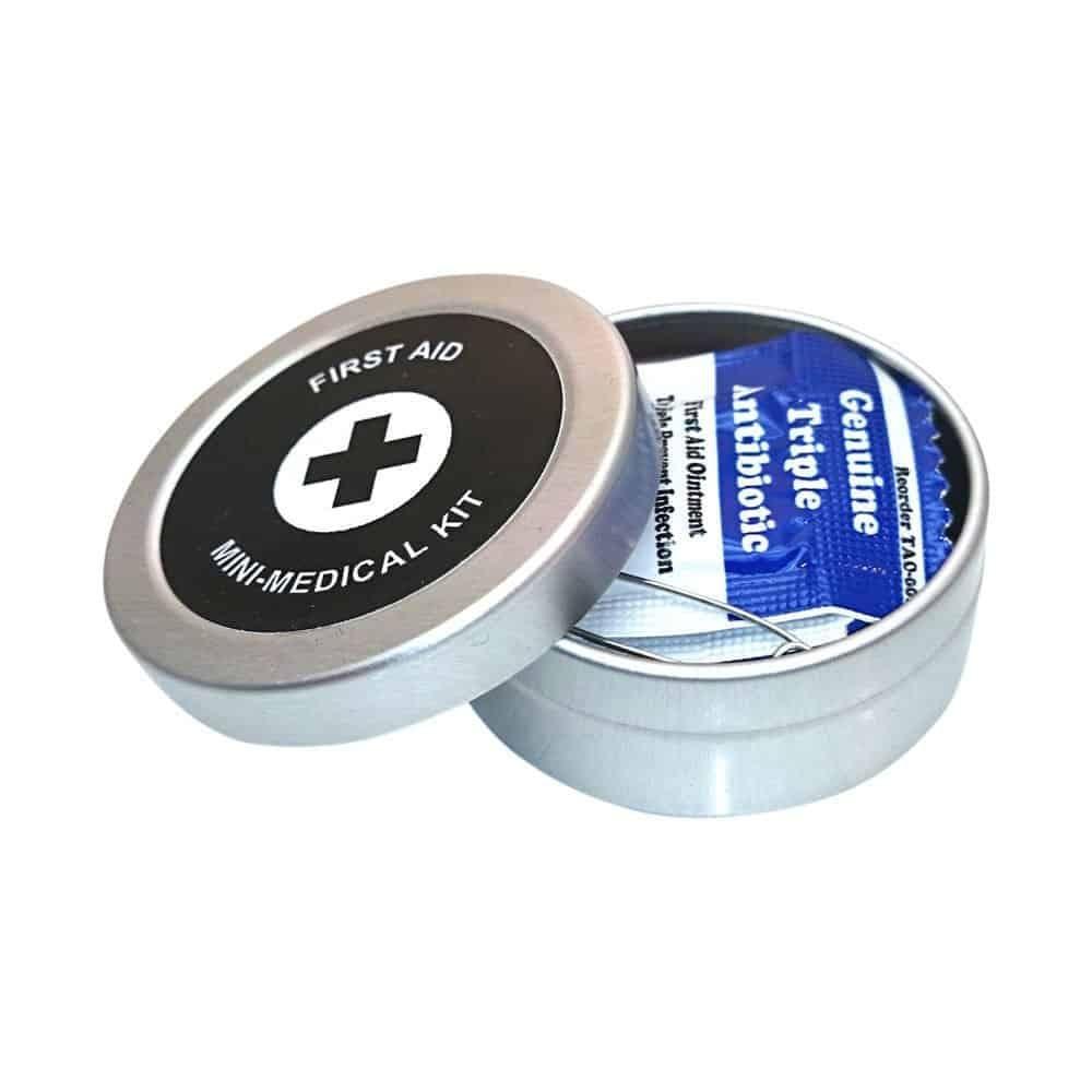 mini first aid tin