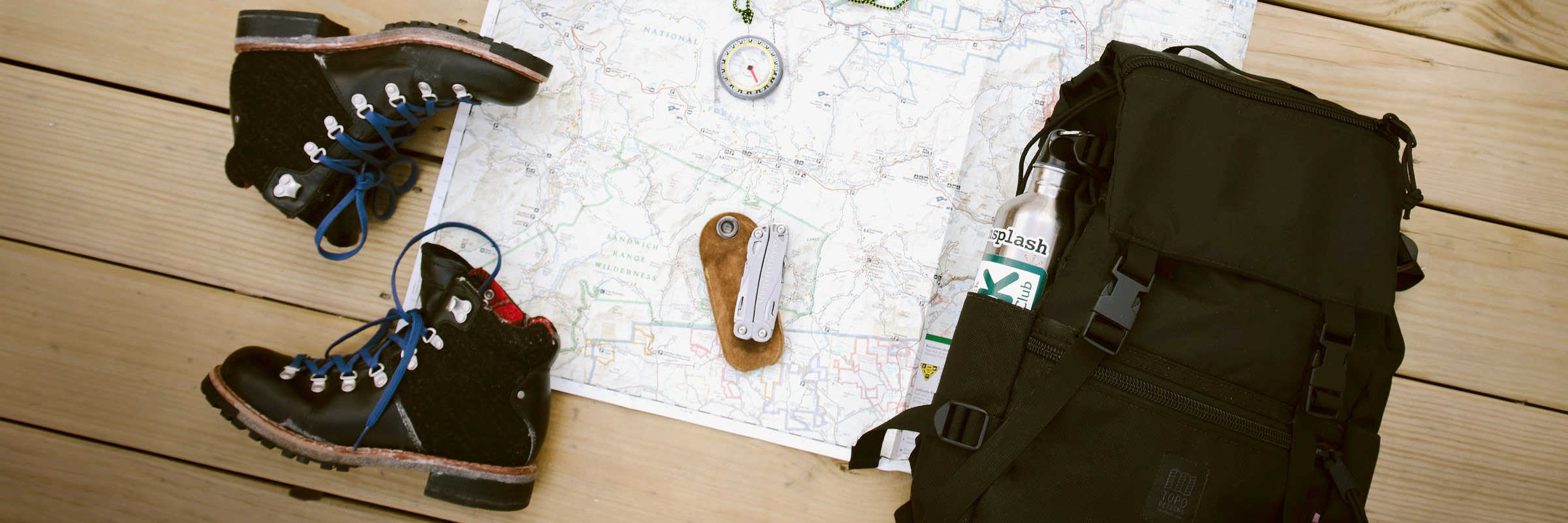 Adventure Medical Kits, Arc'teryx, Clif Bar, Coleman, Counter Assault, Goal Zero, Hiking & Trekking, Hydrapak, Jetboil, Leatherman, Light My Fire, Nalgene, Opinel, Platypus, Red Pine, UCO, Victorinox, VSSL. 24 Helpful Hiking Hints & Hacks To Try On Your Next Hike