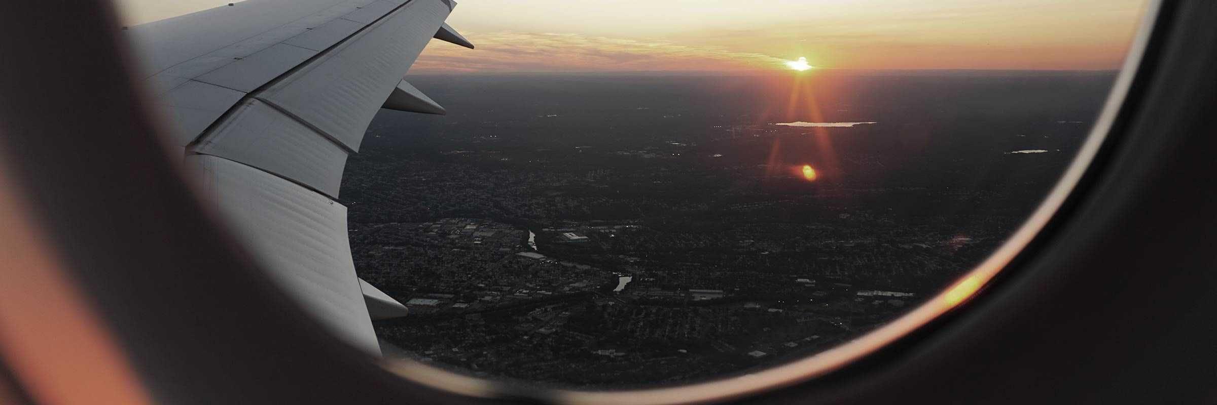 comfortable airplane travel