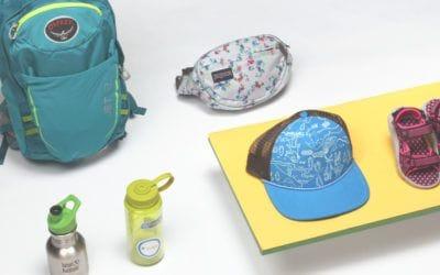 Enfants, hydro flask, JanSport, Keen, kid kanteen, Osprey, The North Face. Les meilleurs accessoires pour votre enfant cet été.