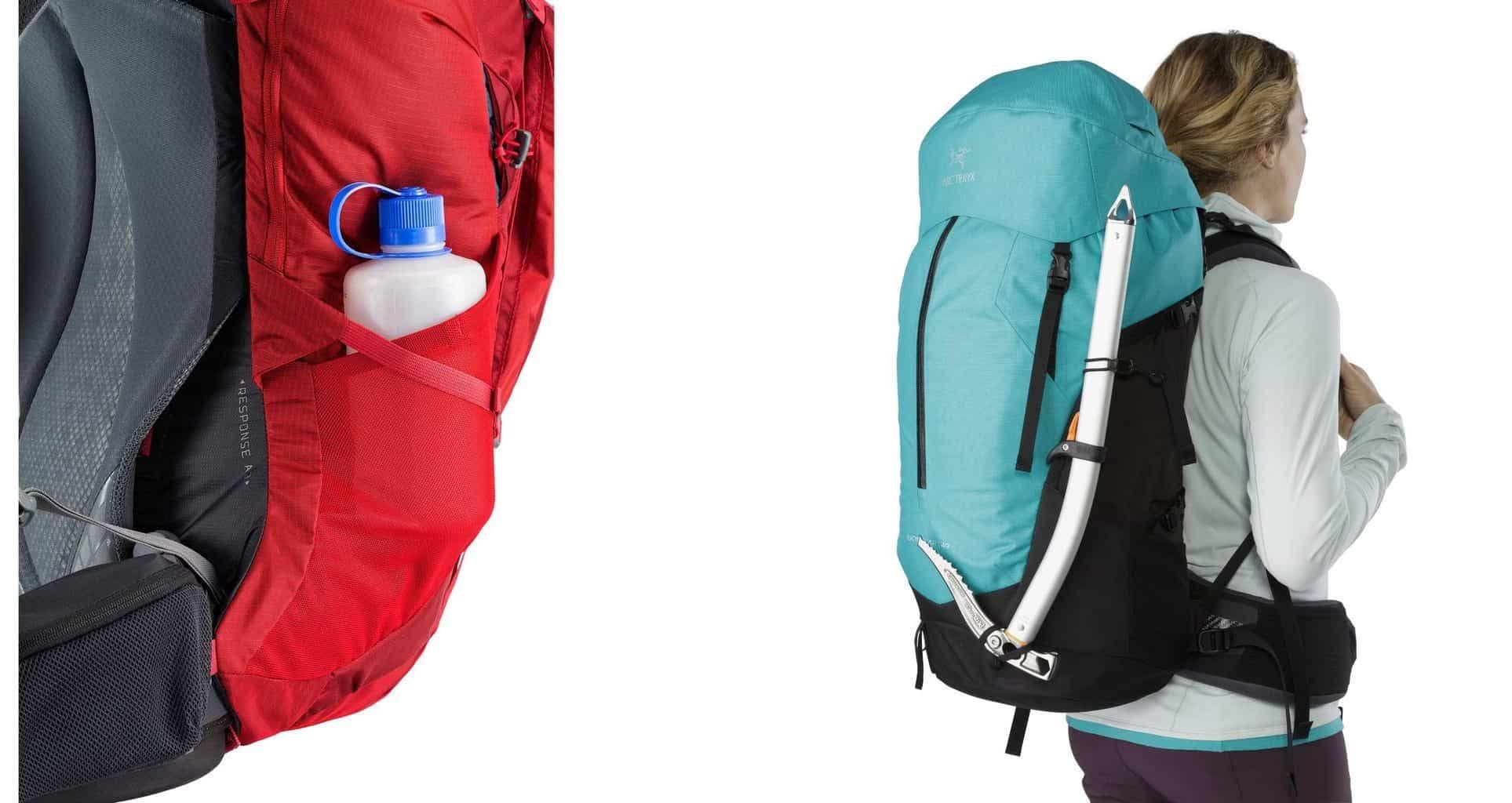 backpack side straps