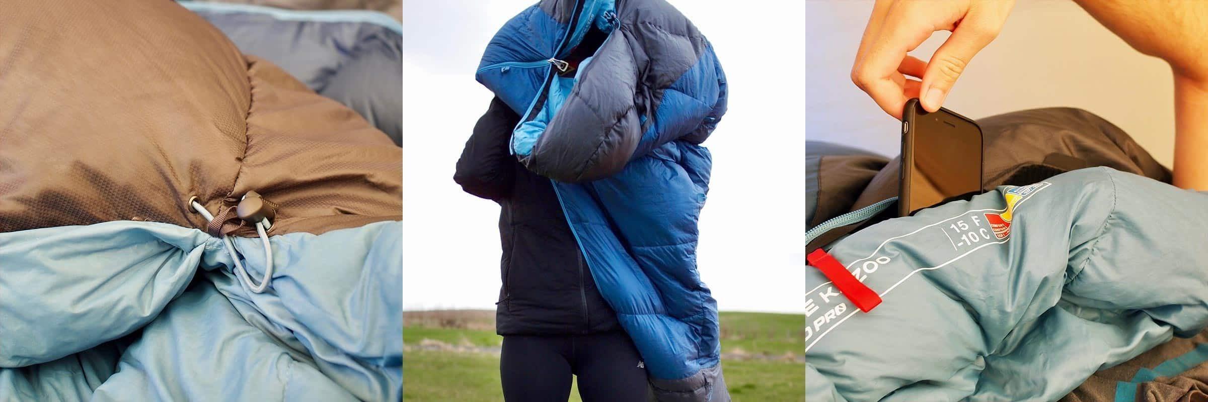 blue kazoo sleeping bag