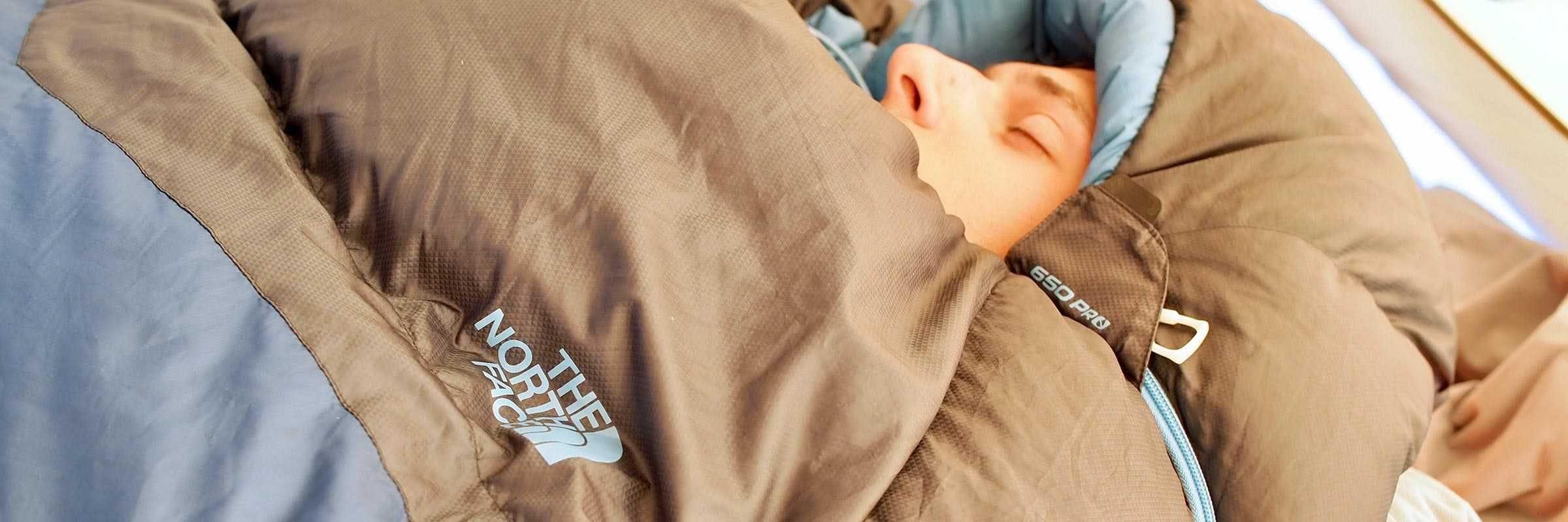 Revue du sac de couchage Blue Kazoo par The North Face