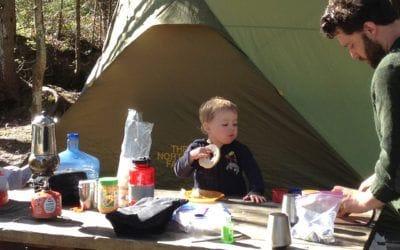 Camping. Le camping avec les enfants : la grande aventure!.