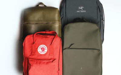 Arc'teryx, Fjällräven, Matt & Nat, RAINS. Top 4 Urban Backpacks You Need This Summer.