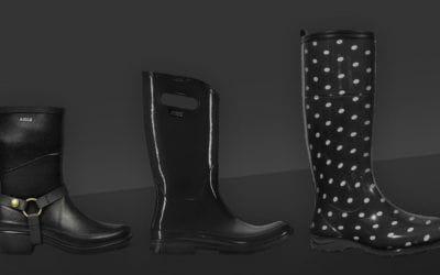 Aigle, Bogs, Hunter, Kamik. Les meilleures bottes de pluie pour femmes cet automne.