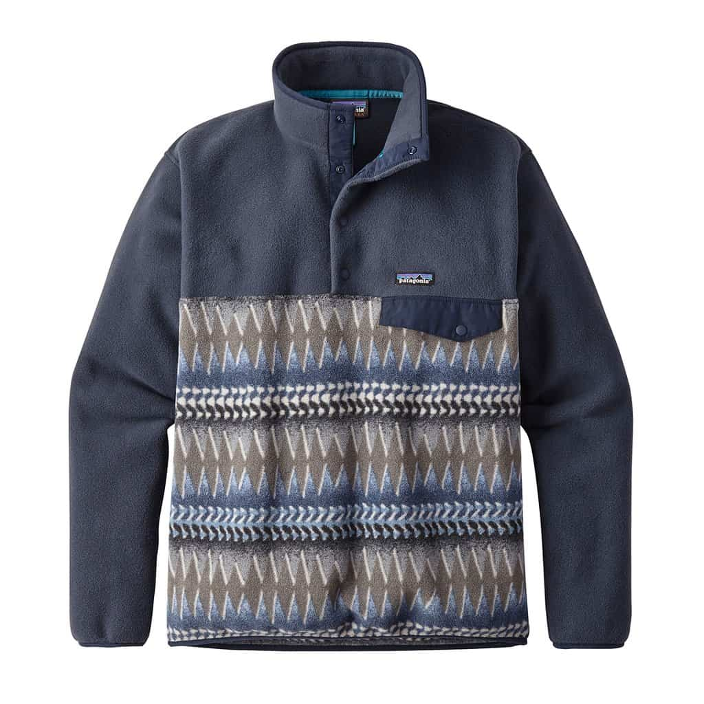 patagonia lightweight synchilla snap-t pull over