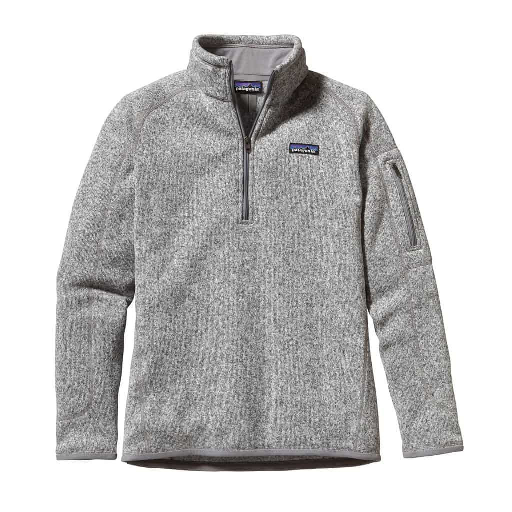 women's better sweater 1/4 zip fleece