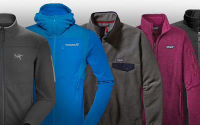 Arc'teryx, Patagonia, The North Face. How to Choose the Perfect Polar Fleece.