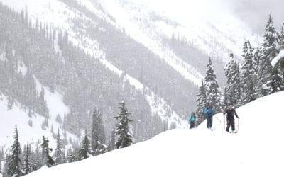 Smartwool. Ski de randonnée alpine au col Rogers avec Smartwool : Go Far. Feel Good..