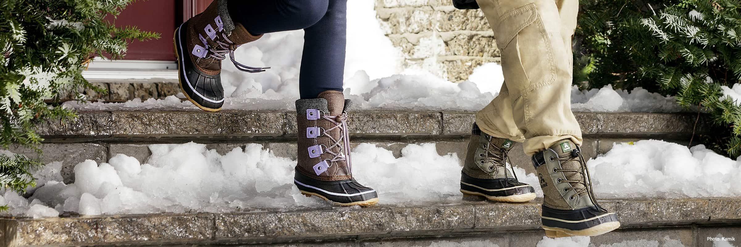 Les meilleures bottes d'hiver pour enfants