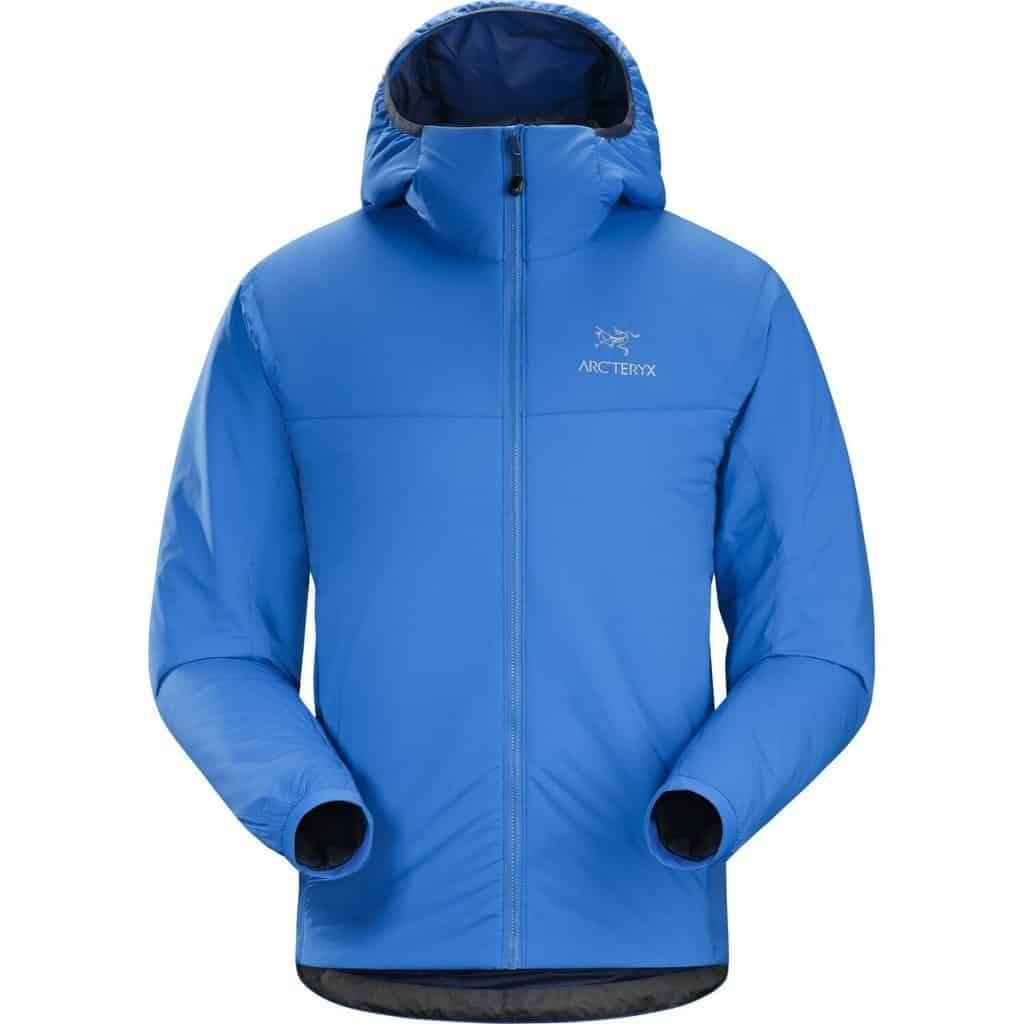 arcteryx mens atom lt hoodie blue
