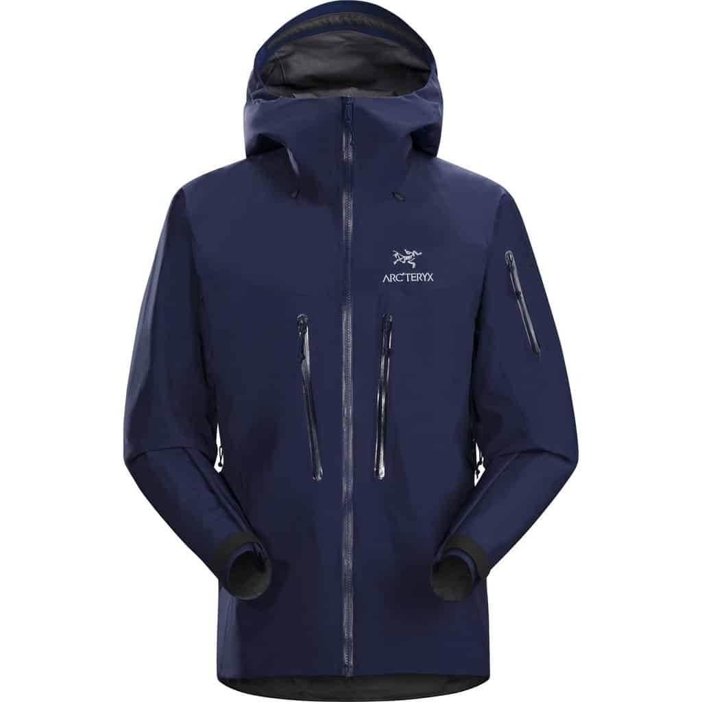 arcteryx mens alpha sv jacket