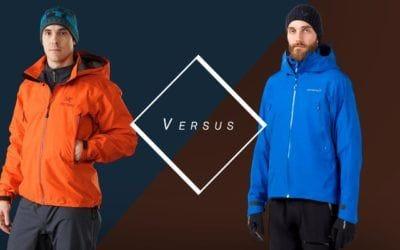 Arc'teryx, Hiking & Trekking, Norrona, Ski & Snowboard. Arc'teryx Beta AR VS Norrøna Falketind GORE-TEX.