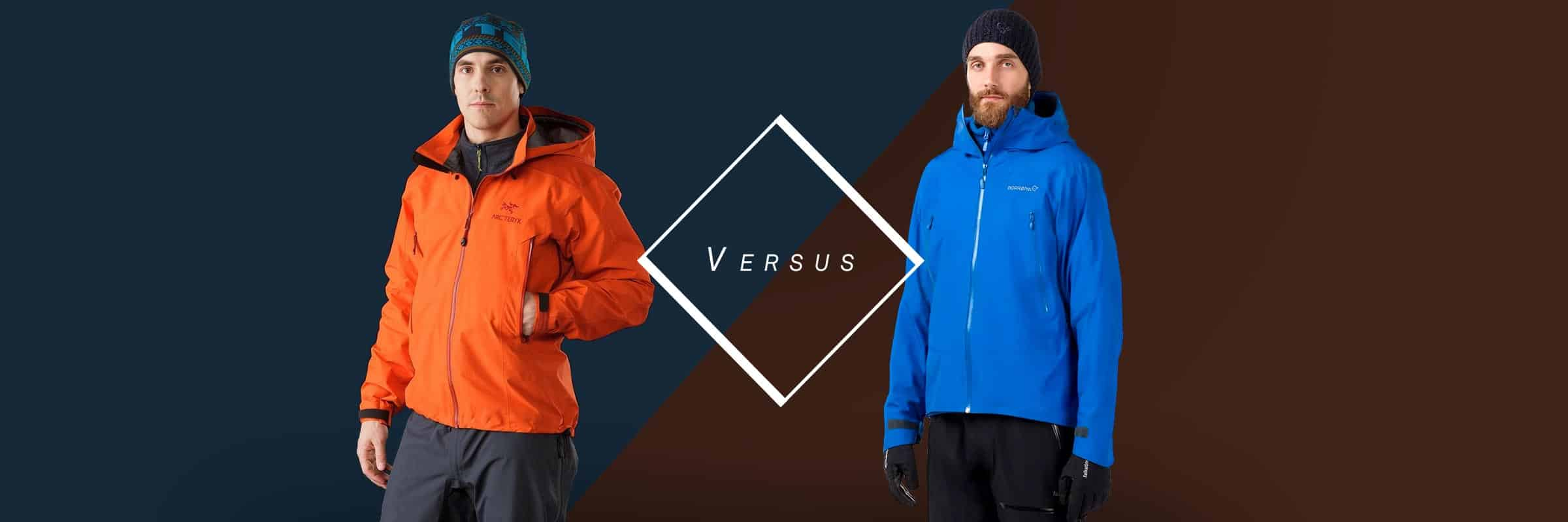 Arc'teryx Beta AR VS Norrøna Falketind GORE TEX