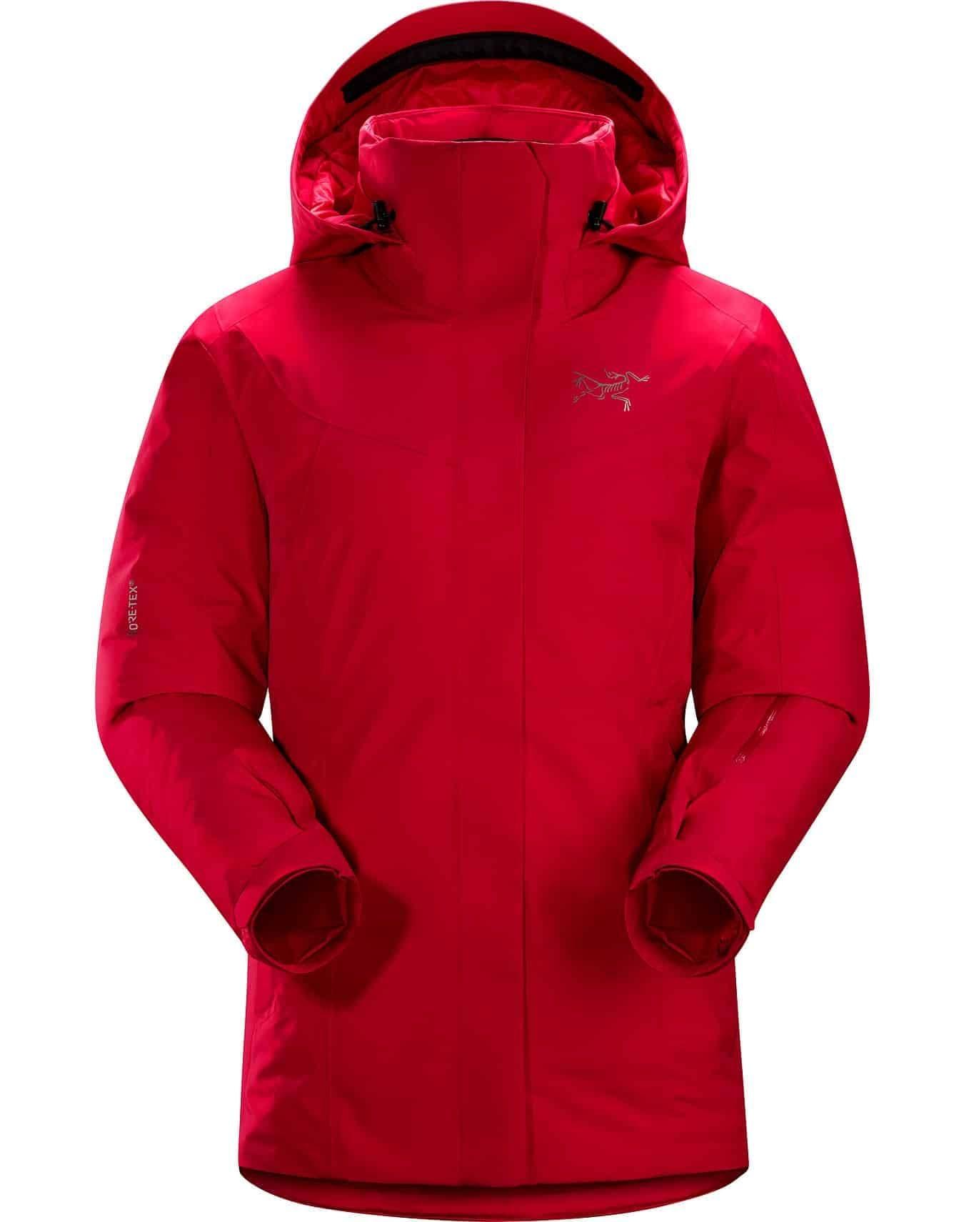 arcteryx womens andessa jacket red