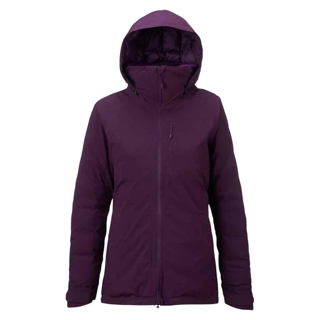 burton womens 2l flare down jacket