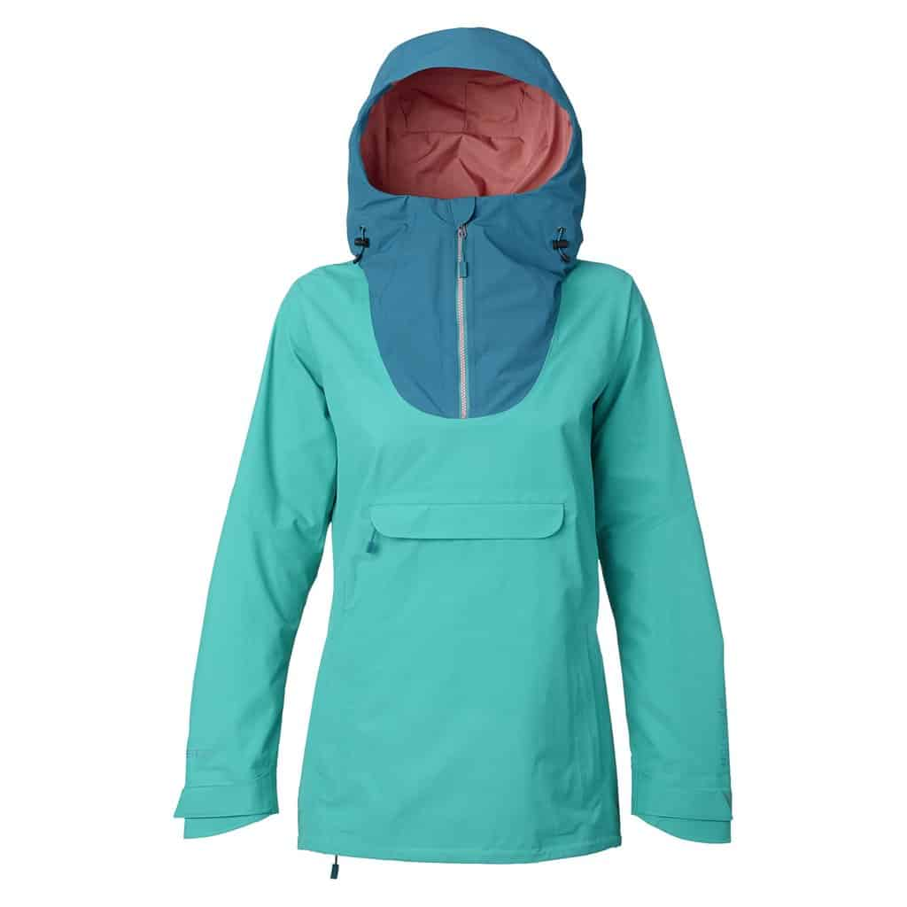 burton womens anorak jacket