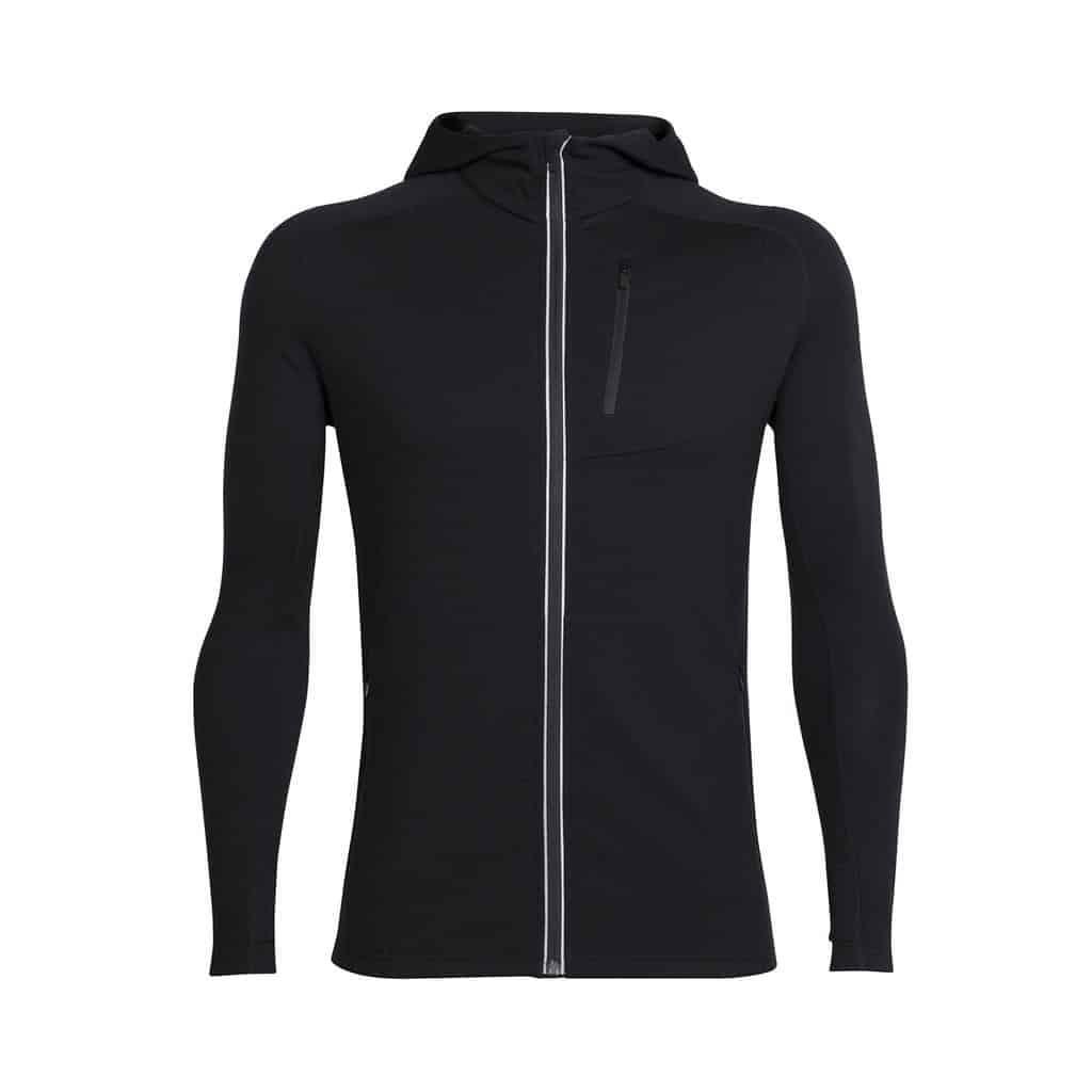 icebreaker mens quantum long sleeve zip hoodie