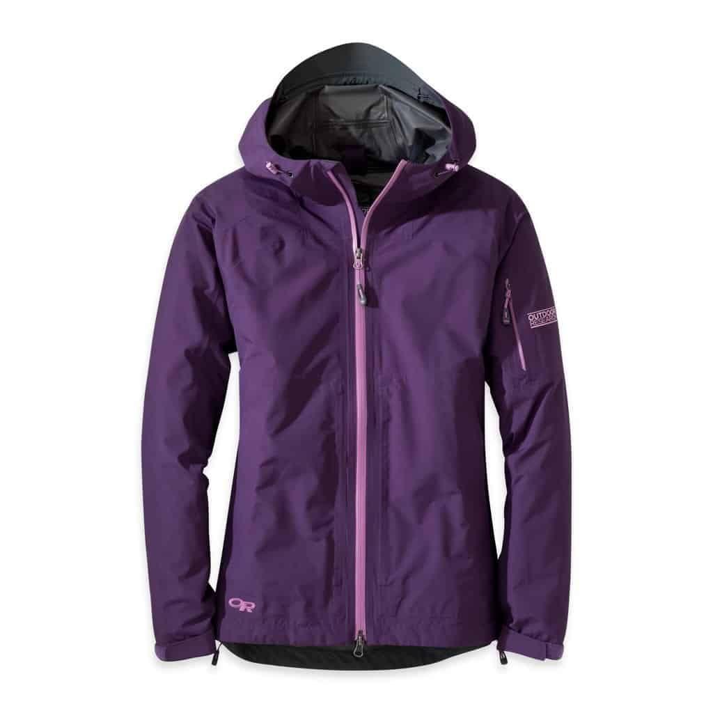 outdoor research womens aspire gtx jacket